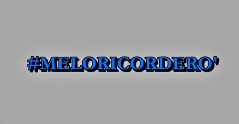 #MELORICORDERO'