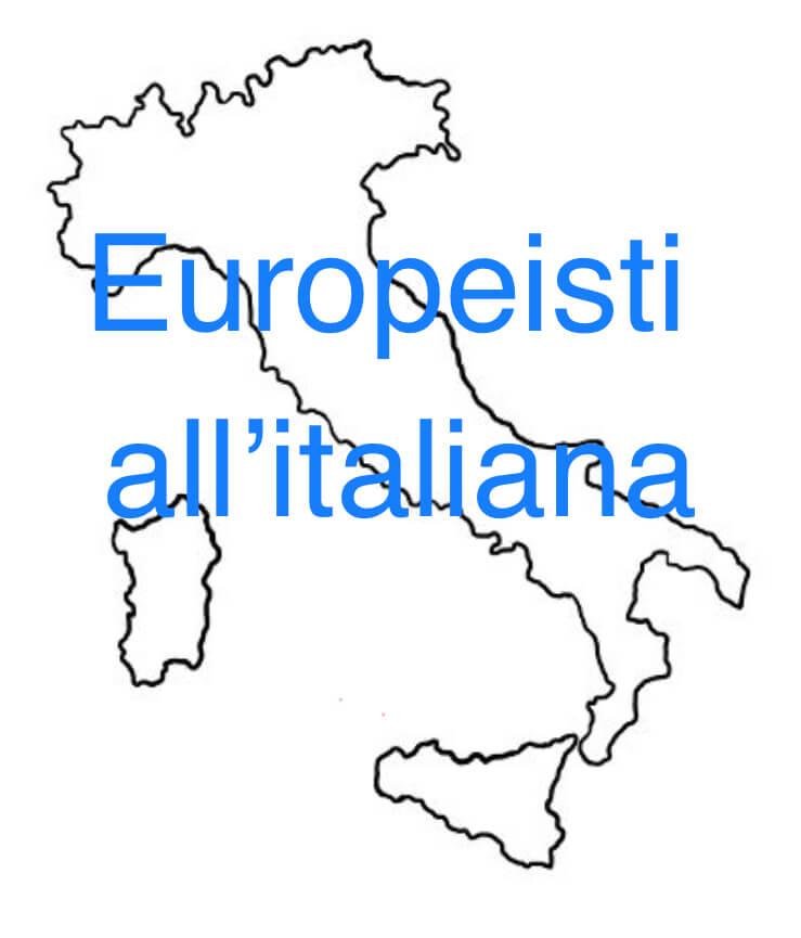 Europeisti all'italiana